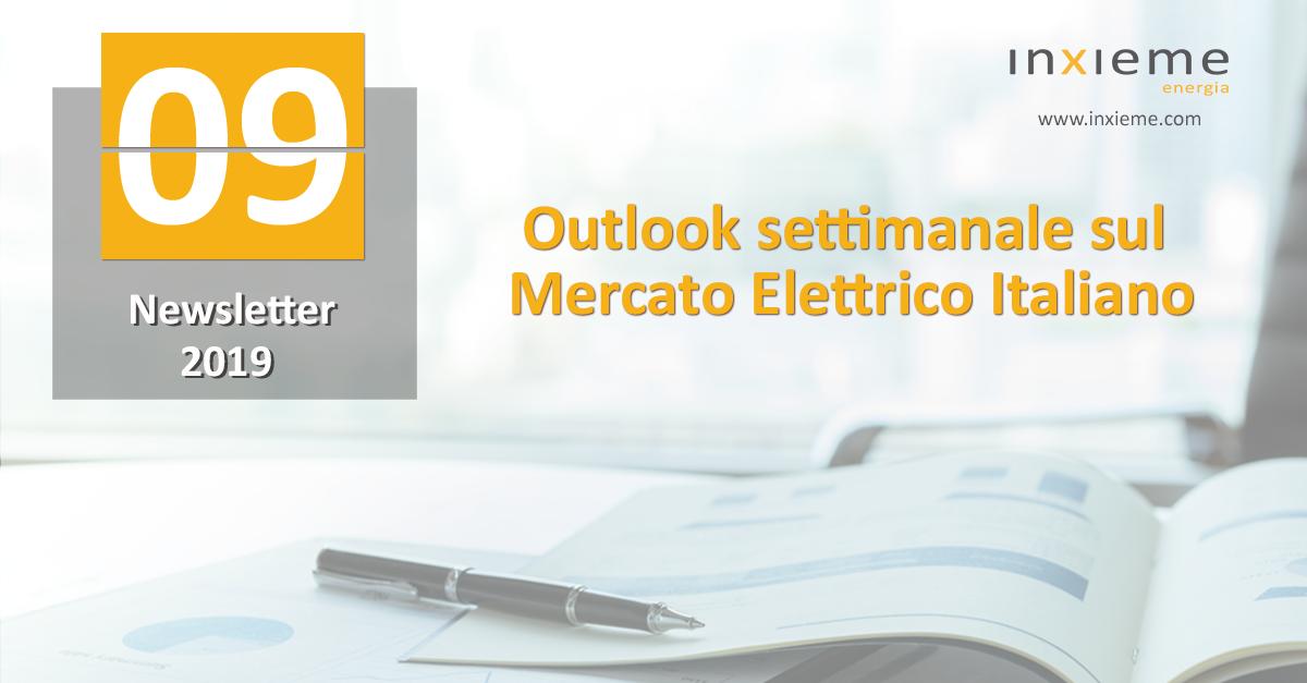 Newsletter Mercato Elettrico: Settimana 09
