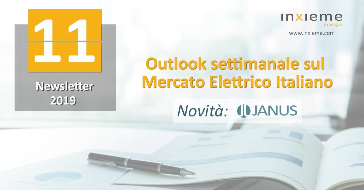 Newsletter Mercato Elettrico: Settimana 11